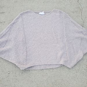 Shrinking Violet Balloon Batwing Sweater sz Small